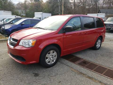 2012 Dodge Grand Caravan for sale at AMA Auto Sales LLC in Ringwood NJ