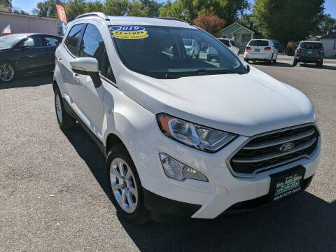 2019 Ford EcoSport for sale at SOLIS AUTO SALES INC in Elko NV
