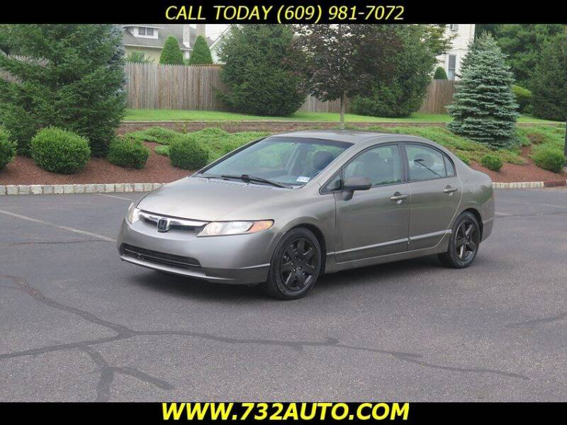 2008 Honda Civic for sale at Absolute Auto Solutions in Hamilton NJ