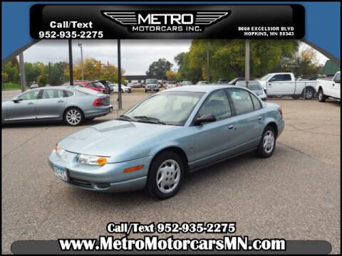 2002 Saturn S-Series for sale at Metro Motorcars Inc in Hopkins MN