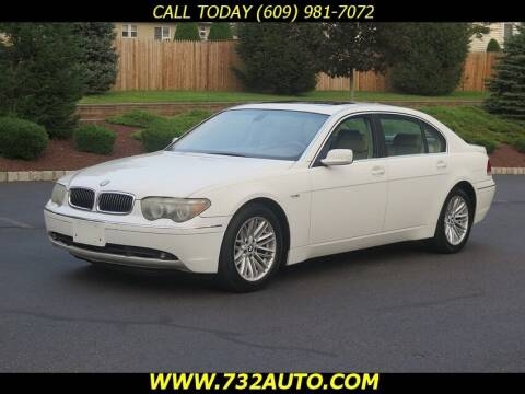 2004 BMW 7 Series for sale at Absolute Auto Solutions in Hamilton NJ