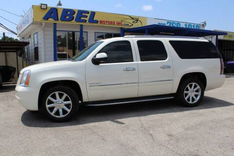 2011 GMC Yukon XL for sale at Abel Motors, Inc. in Conroe TX