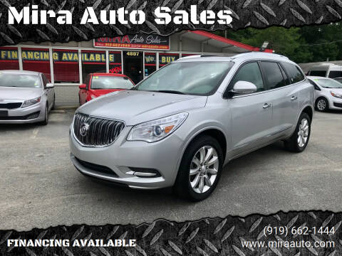 2014 Buick Enclave for sale at Mira Auto Sales in Raleigh NC