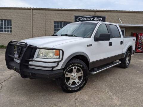 2005 Ford F-150 for sale at Quality Auto of Collins in Collins MS
