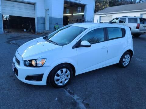 2015 Chevrolet Sonic for sale at Driven Motors in Staunton VA