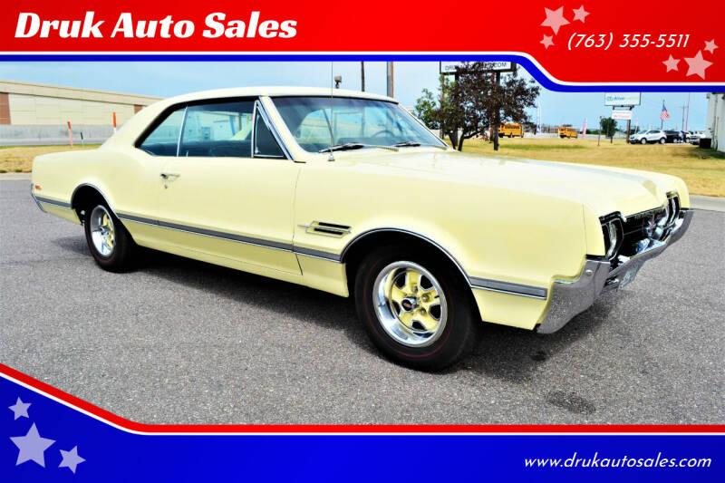 1966 Oldsmobile 442 for sale at Druk Auto Sales in Ramsey MN