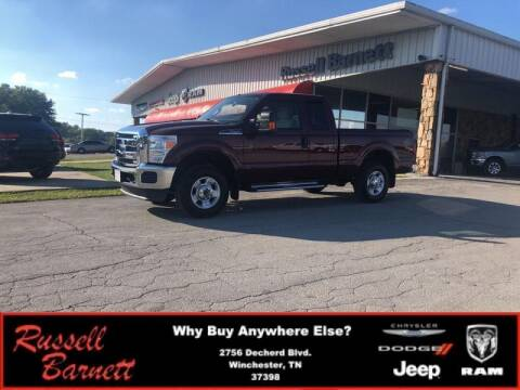 2012 Ford F-250 Super Duty for sale at Russell Barnett Chrysler Dodge Jeep Ram in Winchester TN