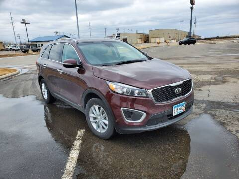 2017 Kia Sorento for sale at GOOD NEWS AUTO SALES in Fargo ND