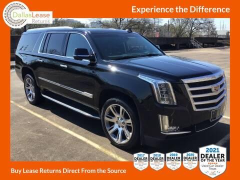 2015 Cadillac Escalade ESV for sale at Dallas Auto Finance in Dallas TX