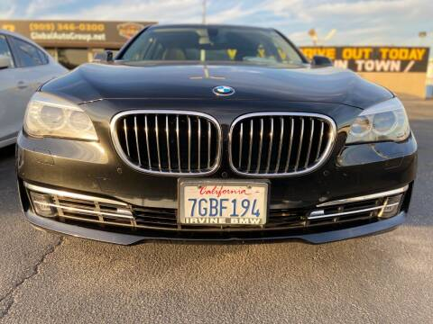 2013 BMW 7 Series for sale at Global Auto Group in Fontana CA