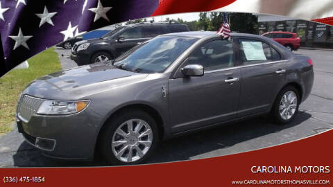 2011 Lincoln MKZ for sale at CAROLINA MOTORS in Thomasville NC