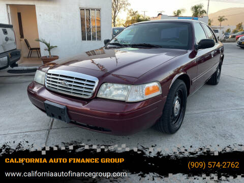 2008 Ford Crown Victoria for sale at CALIFORNIA AUTO FINANCE GROUP in Fontana CA