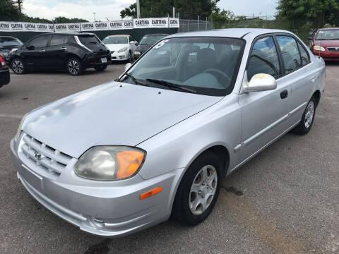 2005 Hyundai Accent for sale at Cartina in Tampa FL