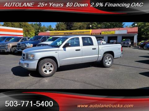 2010 Dodge Dakota for sale at Auto Lane in Portland OR