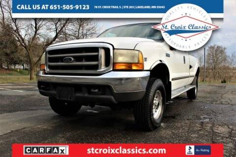 1999 Ford F-350 Super Duty for sale at St. Croix Classics in Lakeland MN