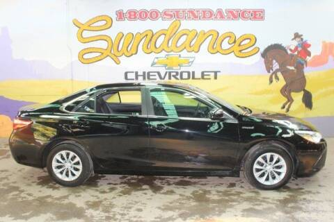 2016 Toyota Camry Hybrid for sale at Sundance Chevrolet in Grand Ledge MI