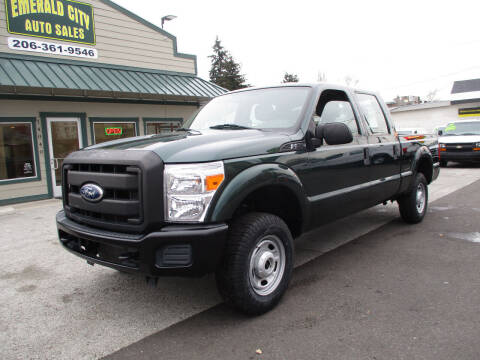 2011 Ford F-250 Super Duty for sale at Emerald City Auto Inc in Seattle WA