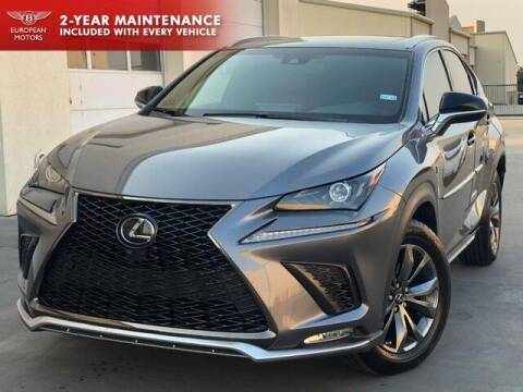 2018 Lexus NX 300 for sale at European Motors Inc in Plano TX