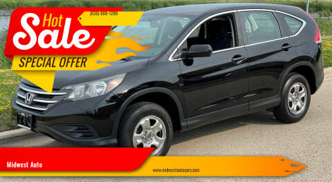 2014 Honda CR-V for sale at Midwest Auto in Naperville IL