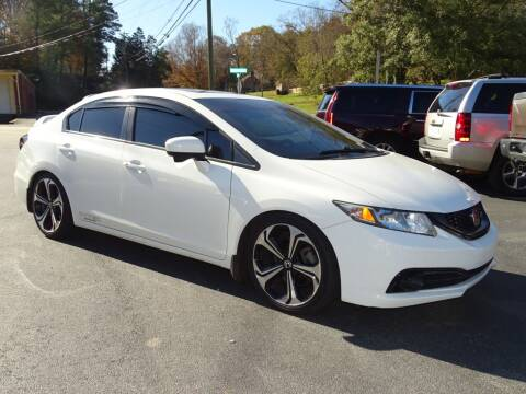 2014 Honda Civic for sale at Luxury Auto Innovations in Flowery Branch GA