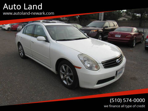 2005 Infiniti G35 for sale at Auto Land in Newark CA