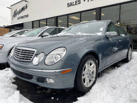 2004 Mercedes-Benz E-Class for sale at Abrams Automotive Inc in Cincinnati OH