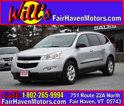2011 Chevrolet Traverse for sale at Will's Fair Haven Motors in Fair Haven VT
