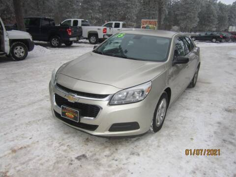 2015 Chevrolet Malibu for sale at SUNNYBROOK USED CARS in Menahga MN