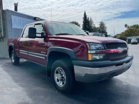 2004 Chevrolet Silverado 2500 for sale at Akron Motorcars Inc. in Akron OH