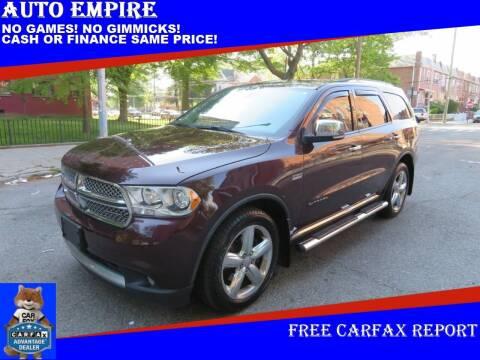 2012 Dodge Durango for sale at Auto Empire in Brooklyn NY