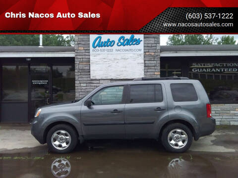 2013 Honda Pilot for sale at Chris Nacos Auto Sales in Derry NH