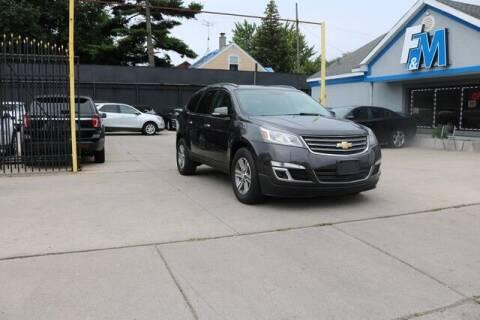 2015 Chevrolet Traverse for sale at F & M AUTO SALES in Detroit MI