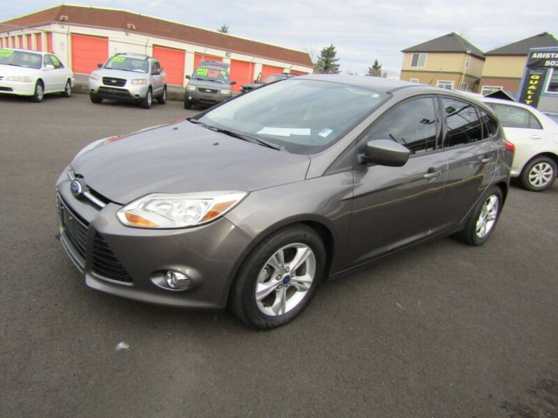 2012 Ford Focus for sale at ARISTA CAR COMPANY LLC in Portland OR