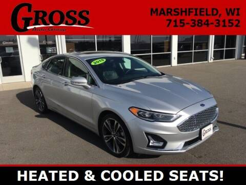 2019 Ford Fusion for sale at Gross Motors of Marshfield in Marshfield WI