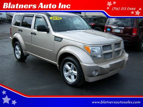2010 Dodge Nitro for sale at Blatners Auto Inc in North Tonawanda NY