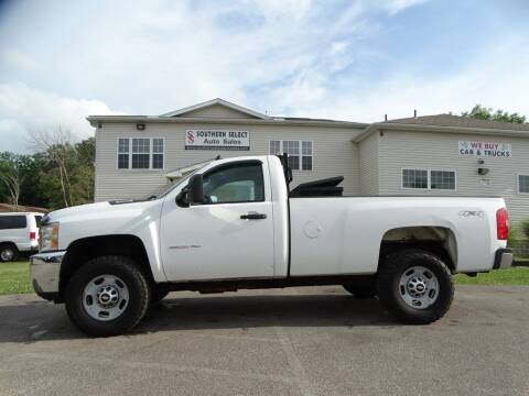 2004 Chevrolet Silverado 2500 for sale at SOUTHERN SELECT AUTO SALES in Medina OH