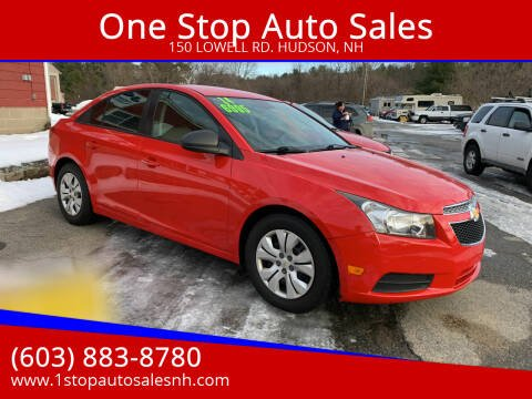 2014 Chevrolet Cruze for sale at One Stop Auto Sales in Hudson NH
