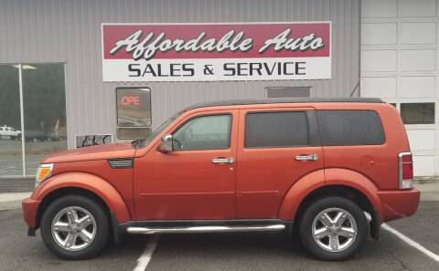 2008 Dodge Nitro for sale at Affordable Auto Sales & Service in Berkeley Springs WV