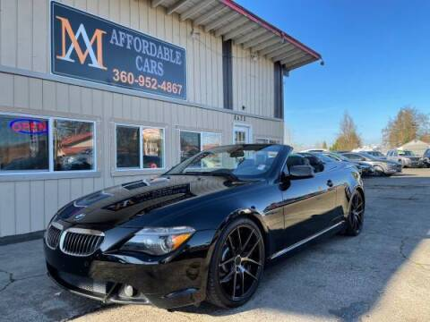 2005 BMW 6 Series for sale at M & A Affordable Cars in Vancouver WA