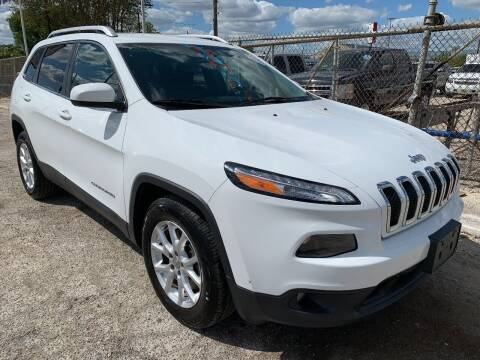 2016 Jeep Cherokee for sale at Atrium Autoplex in San Antonio TX