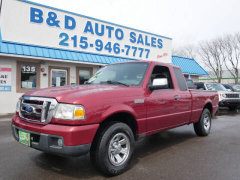 2007 Ford Ranger for sale at B & D Auto Sales Inc. in Fairless Hills PA