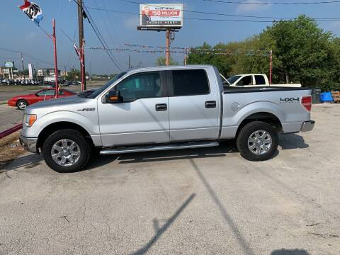 2013 Ford F-150 for sale at BULLSEYE MOTORS INC in New Braunfels TX