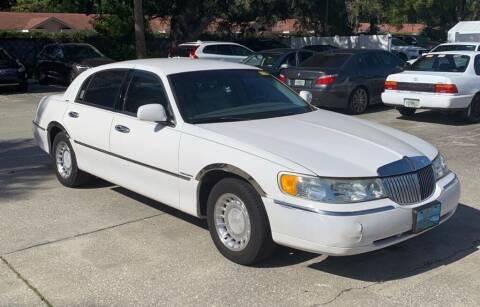 2000 Lincoln Town Car for sale at Cobalt Cars in Atlanta GA