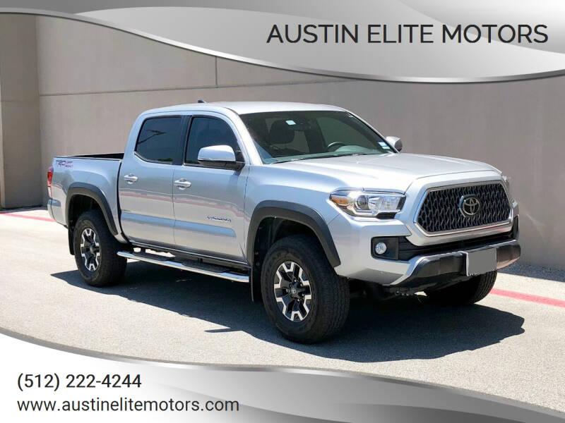 2019 Toyota Tacoma for sale at Austin Elite Motors in Austin TX