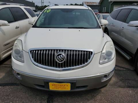 2010 Buick Enclave for sale at Brothers Used Cars Inc in Sioux City IA
