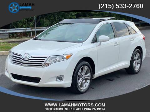 2012 Toyota Venza for sale at LAMAH MOTORS INC in Philadelphia PA