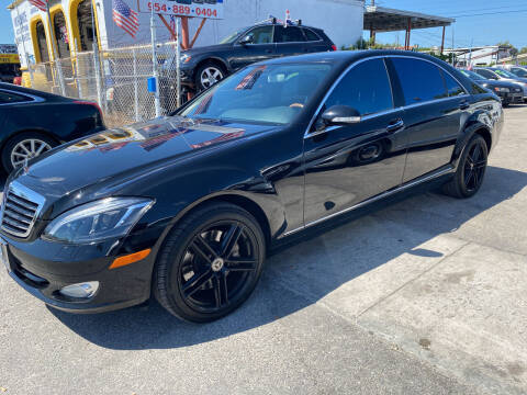 2009 Mercedes-Benz S-Class for sale at INTERNATIONAL AUTO BROKERS INC in Hollywood FL