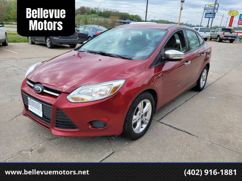 2014 Ford Focus for sale at Bellevue Motors in Bellevue NE