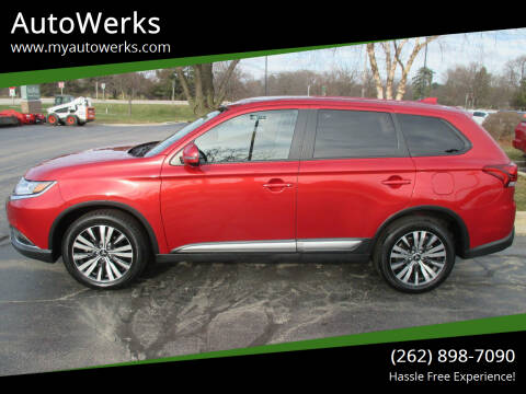 2019 Mitsubishi Outlander for sale at AutoWerks in Sturtevant WI