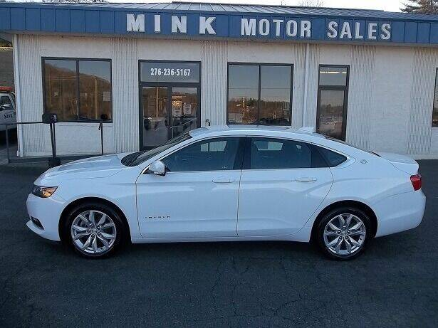 2018 Chevrolet Impala for sale at MINK MOTOR SALES INC in Galax VA